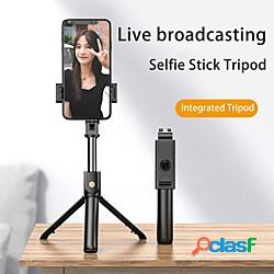 Asta per selfie Bluetooth Allungabile Lunghezza massima 73.1 cm Per Universale Android / iOS Lightinthebox