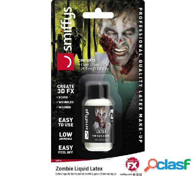 Blister in lattice liquido bianco per zombi da 28 ml.
