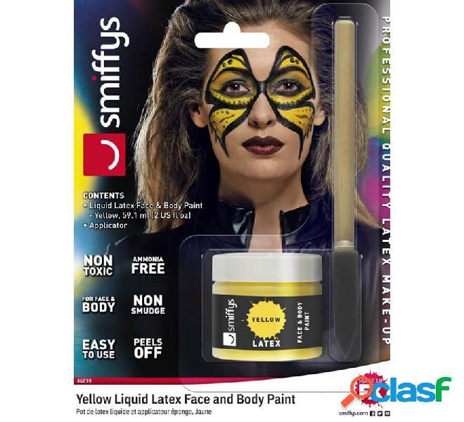 Blister in lattice liquido giallo fluorescente con applicatore