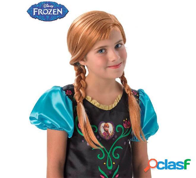 Parrucca Anna di Frozen per bambine
