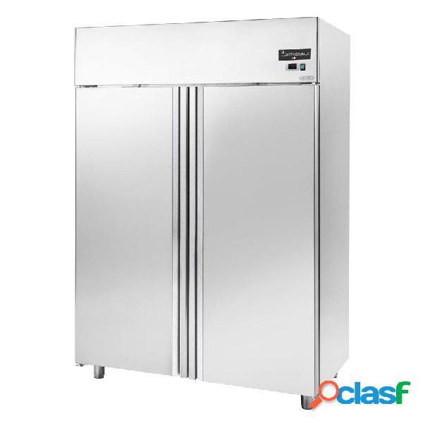 Armadio refrigerato ventilato 0°c/+10°c 1400 litri 2 porte classe energetica g