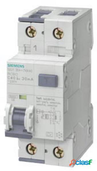 Siemens 5su13547vk20 magnetotermico e differenziale 20 a 0.03 a 230 v
