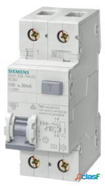 Siemens 5su16560kk06 magnetotermico e differenziale 6 a 0.3 a 230 v