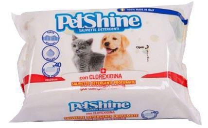 Trixder igiene salviette cane / gatto, clorexidina, 40 unit