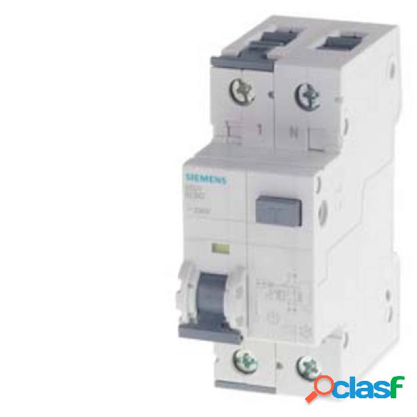 Siemens 5su13561kk10 interruttore magnetotermico 10 a 0.03 a 230 v