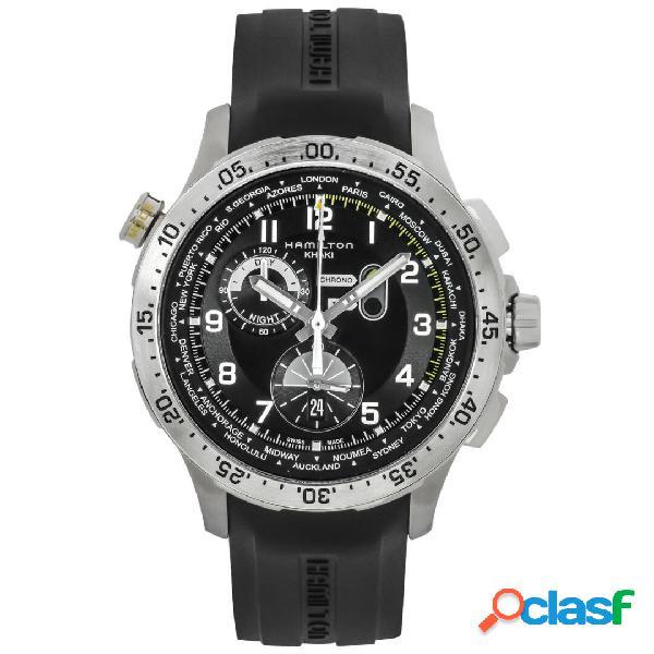 Hamilton orologio uomo cronografo collezione khaki aviation mod. h76714335
