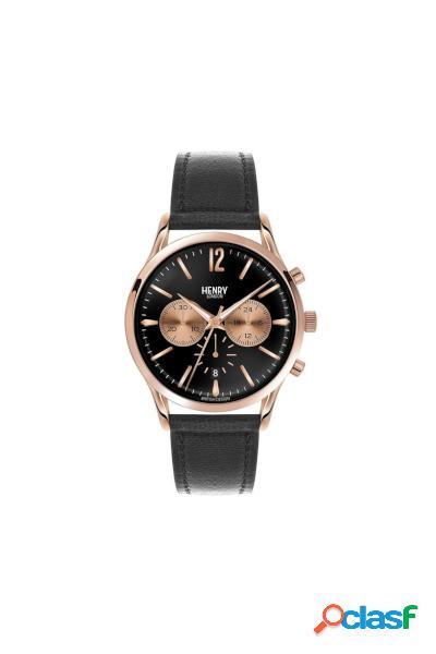 Orologio cronografo henry london classic mod.hl41-cs-0042