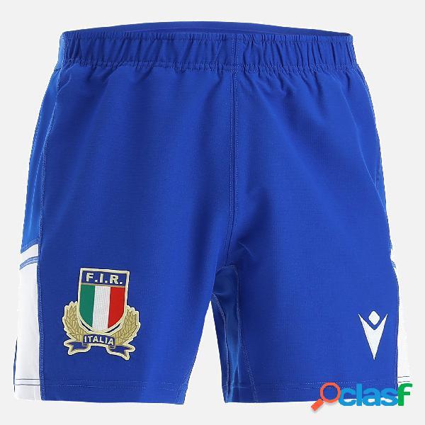 pantaloncino away da bambino italia rugby 2021/22