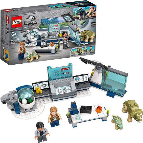 LEGO Il laboratorio del Dottor Wu: fuga dei baby dinosauri