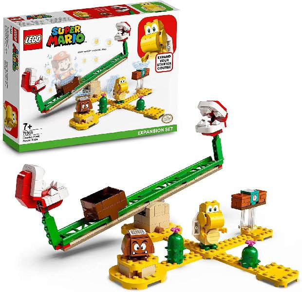 Lego Super Mario 71365 Scivolo della Pianta Piranha
