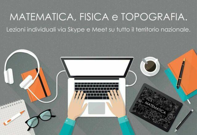 Ripetizioni online di Matematica, Fisica, Cad e Topografia