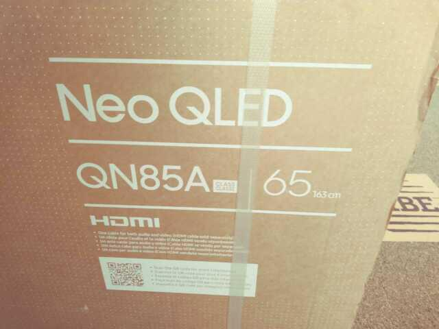 TV Samsung Qled QN85A 65 pollici nuovo luglio 2021