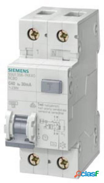 Siemens 5su13561kk40 magnetotermico e differenziale 40 a 0.03 a 230 v