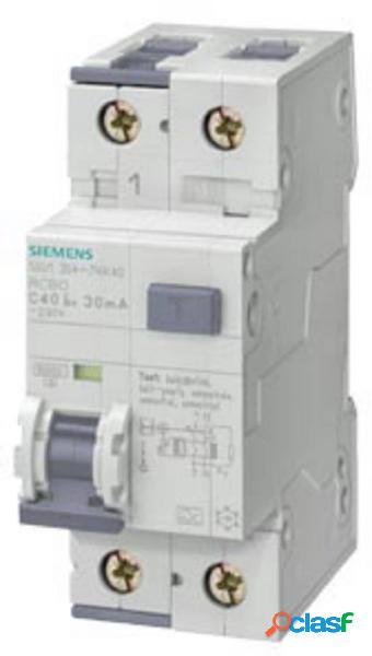 Siemens 5su13540kk06 magnetotermico e differenziale 6 a 0.03 a 230 v