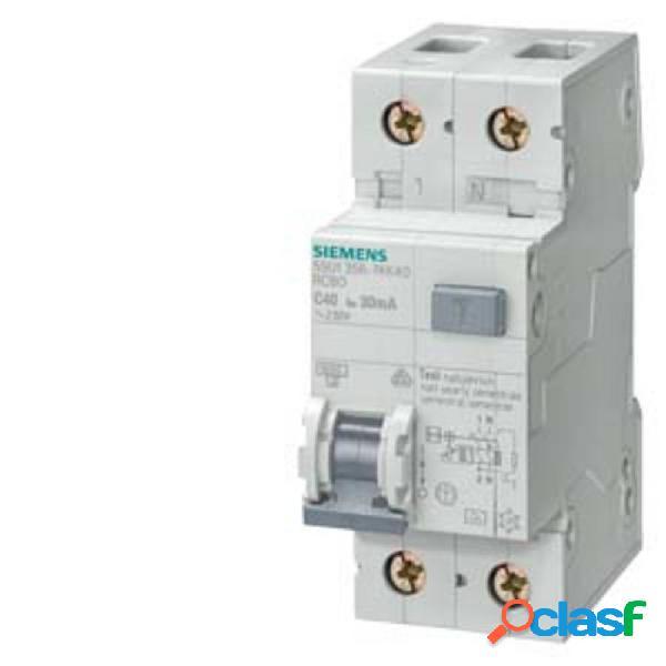 Siemens 5su13560kk10 interruttore magnetotermico 10 a 0.03 a 230 v