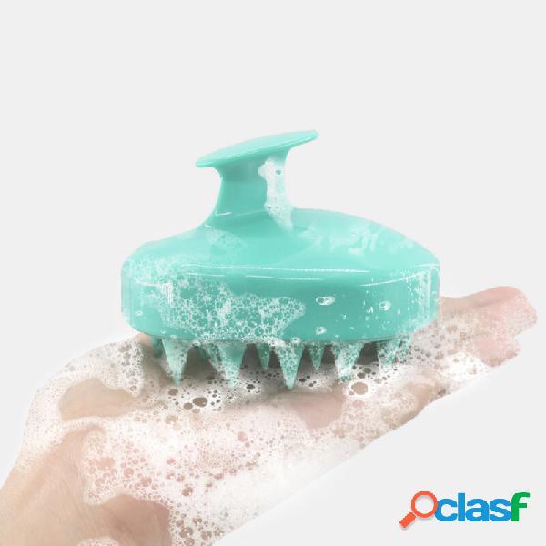 Shampoo massaggiante per cuoio capelluto pennello massaggio per cuoio capelluto pennello rimuovi la forfora shampoo per