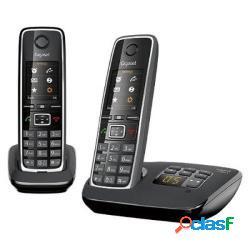 Siemens telefono cordless gigaset c530 a duo nero - siemens