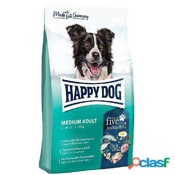 Happy dog supreme fit&well medium adult 12,5 kg