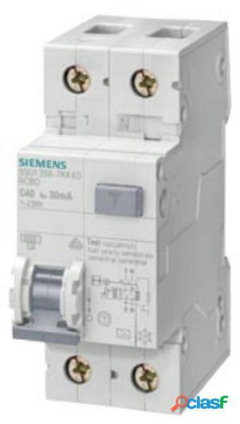 Siemens 5su16561kk10 magnetotermico e differenziale 10 a 0.3 a 230 v