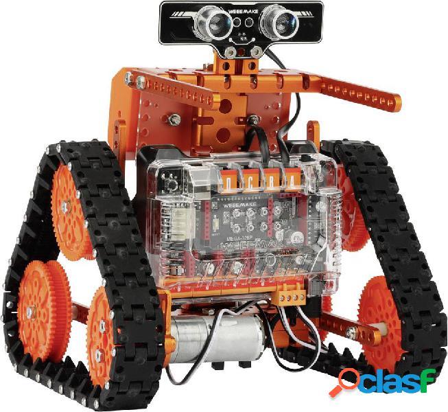 Weeemake 6-in-1 weeebot evolution robot kit giocattolo educativo robotica
