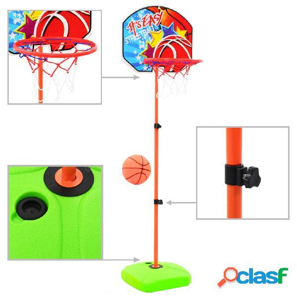 Vidaxl set da pallacanestro per bambini