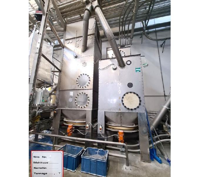 2 silos per farine usati Ancona