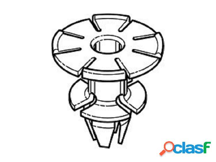 Boccola fermo clip per centraggio modanatura sottoporta bmw serie 1