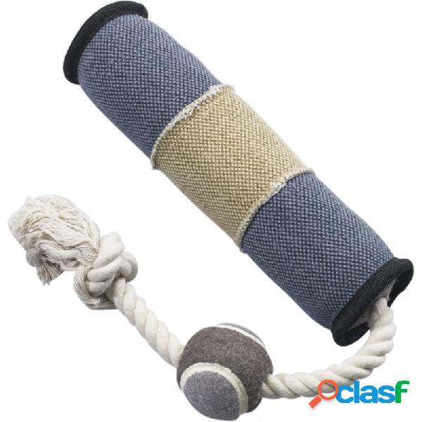 Gimborn - dura fused tug con palla gioco per cani lunghezza cm 45