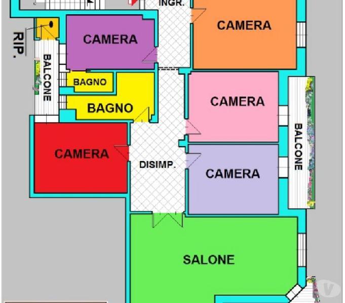 APPARTAMENTO LUMINOSO 5 VANI - A1147 Taranto - Casa in vendita