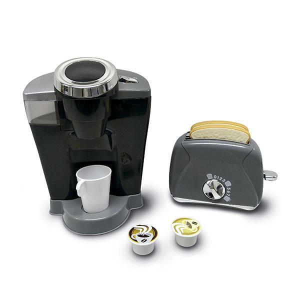 Set caffettiera e tostapane per cucine