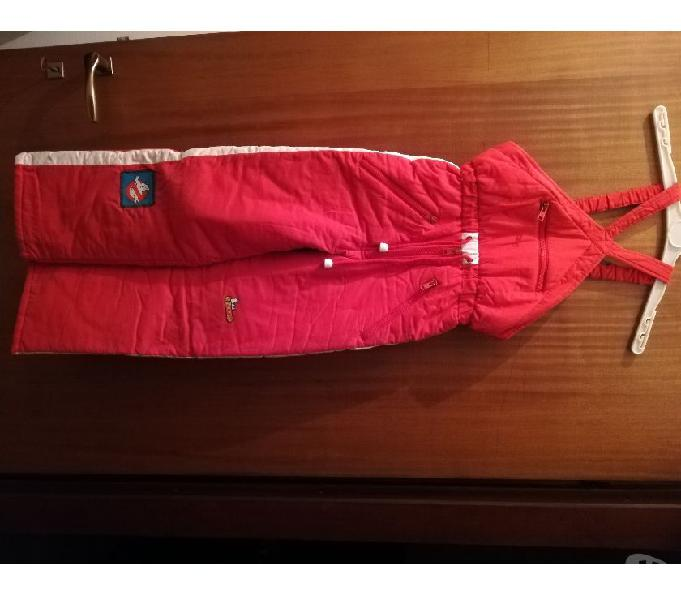 tuta pantalone salopette da sci bimbo tg 34, H cm 133 Milano