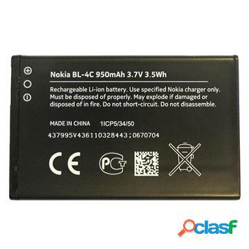 Batteria nokia bl-4c per 2650, 2656, 5100, 6070, 6100, 6101, 6103