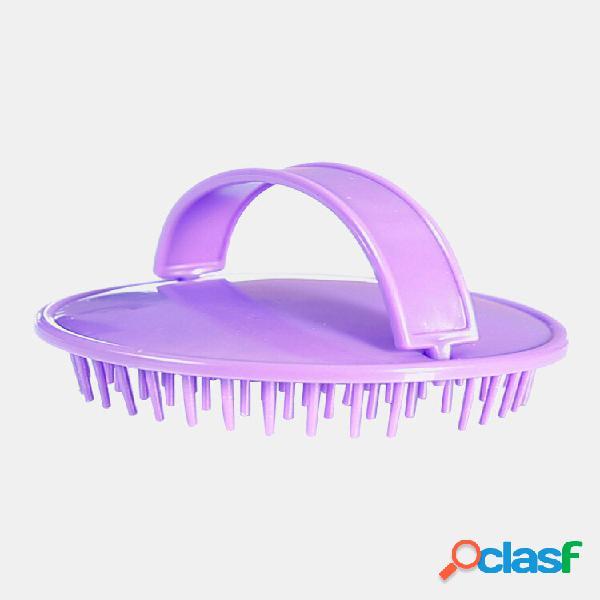 Shampoo per la casa pennello cuoio capelluto anti-prurito massaggio pettine per salone capelli styling strumenti