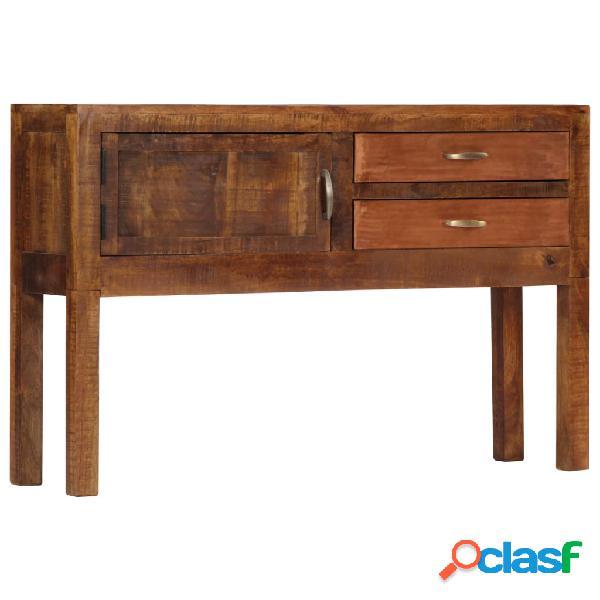 Vidaxl credenza 118x30x75 cm in legno massello di mango