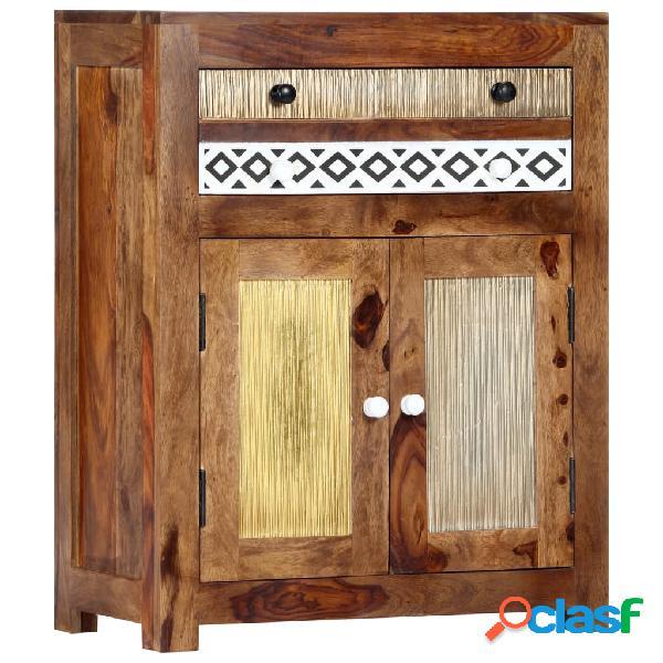 Vidaxl credenza 60x30x75 cm in legno massello di sheesham