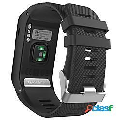 Garmin vivoactive hr watch band, cinturino in silicone morbido sostitutivo solo per garmin vivoactive hr sports gps smart watch con strumenti adattatore lightinthebox