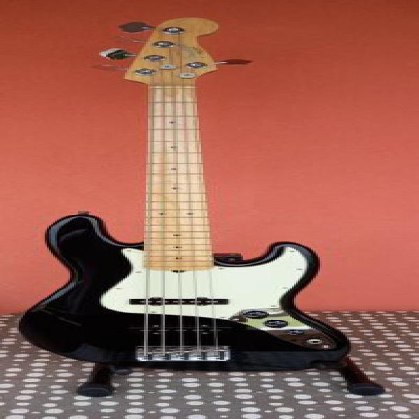 Fender jazz bass v american professional nero