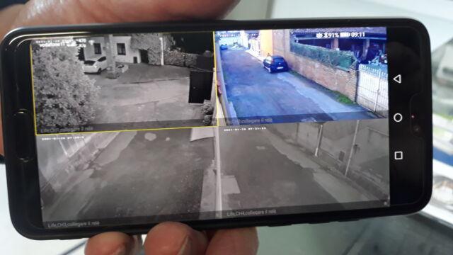 New kit di video sorveglianza
