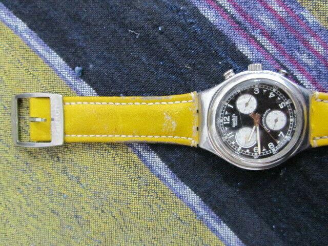 Orologio swatch cronografic vermissagge anno 1995...yc.101.
