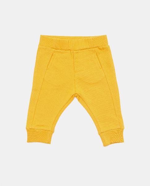 Pantaloni in tinta unita neonato