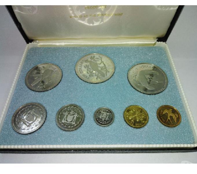 Cofanetto monete del belize roma - collezionismo in vendita
