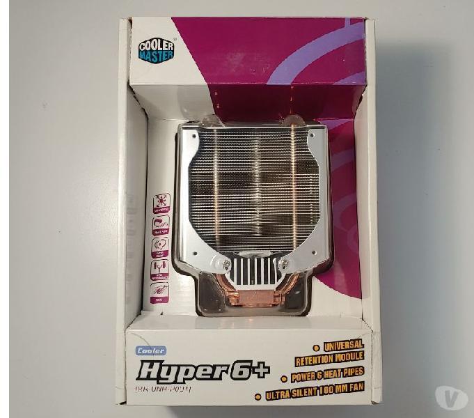 Dissipatore intel cooler master hyper6+ rr-unh-p0u1 nuovo bari