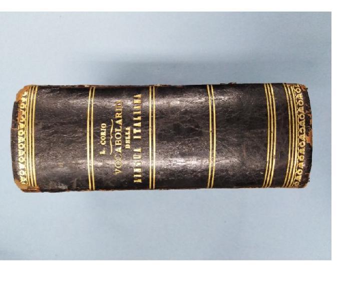 Dizionario antico ludovico corio 1900 roma - collezionismo in vendita