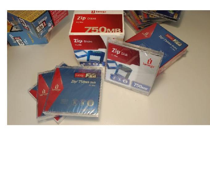Iomega zip disk 100 mb 250 mb 750 nuovi e usati stock bari