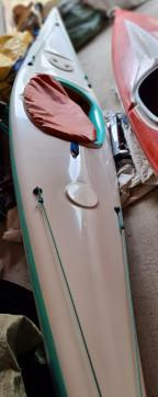 Kayak attrezzato