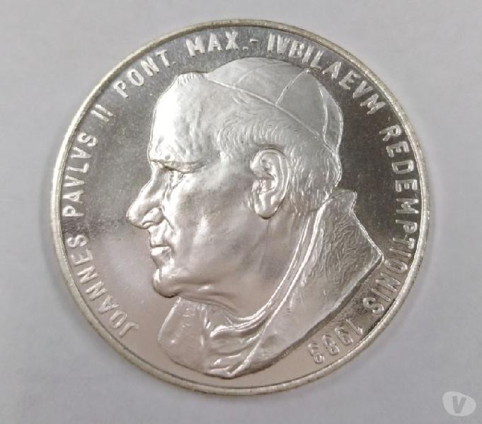 Moneta del giubileo anno santo 1984 roma - collezionismo in vendita