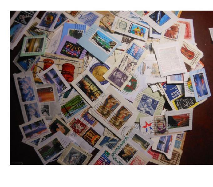 Stati uniti - 350 francobolli su frammento taranto - collezionismo in vendita