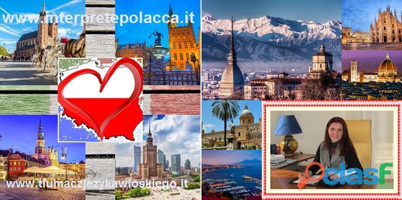 Polacco   italiano   traduzioni, interpretariato, servizi