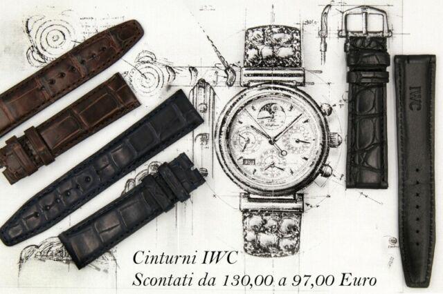 Cinturino iwc orologi vasta gamma nuovo pelle altà qualità