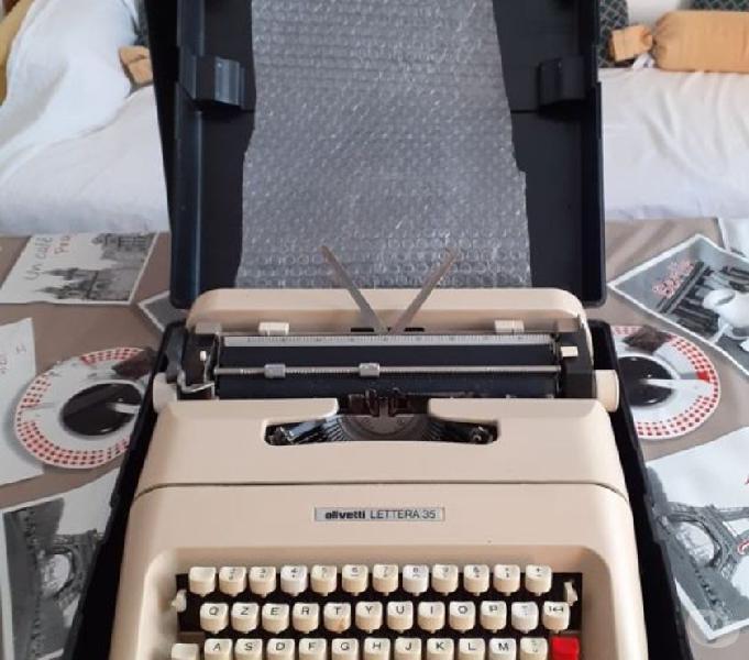 Macchina da scrivere olivetti lettera 35 bologna - collezionismo in vendita